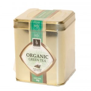 CEYLON TEA - ORGANIC GREEN TEA 40G IN A