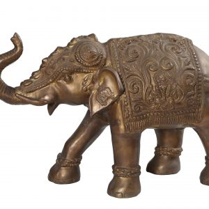 BRASS ELEPHANT (ANIQUE DESIGN)