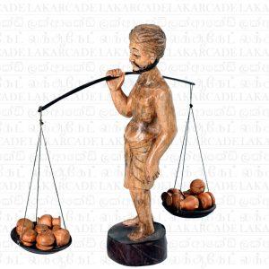 "Wooden Statue ""Kath Karaya"""