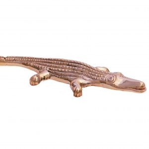 BRASS CROCODILE