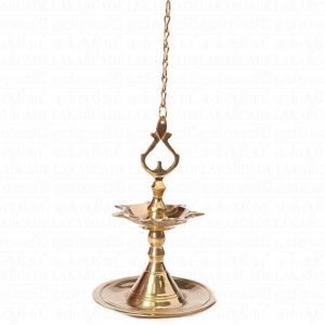 Brass Hanging Lamp (S)