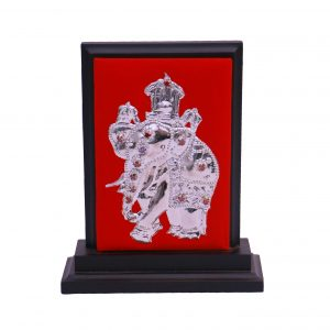 SILVER PLATED STAND - ELEPHANT 13F
