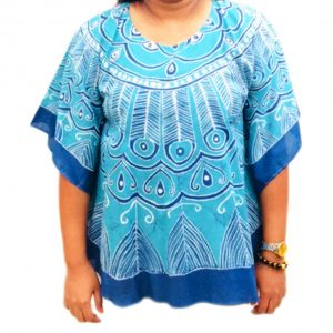 Batik Cotton Poncho