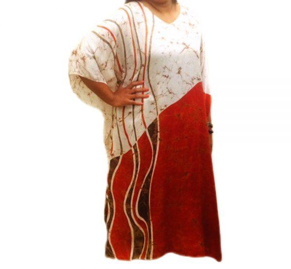 Batik Silk Kaftan 21