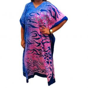 Batik Cotton Kaftan