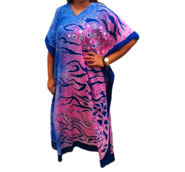 Batik Cotton Kaftan 23