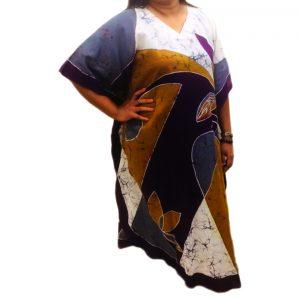 Batik Cotton Kaftan