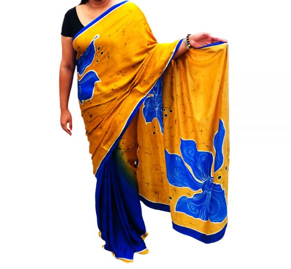 Batik Silk Saree 02